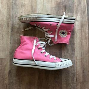 Converse Shoes Chuck Taylor All Star Pink Hi Top